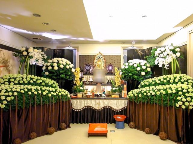 丙級廳 告別式鮮花佈置