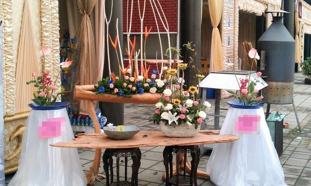 喪禮、告別式 會場佈置