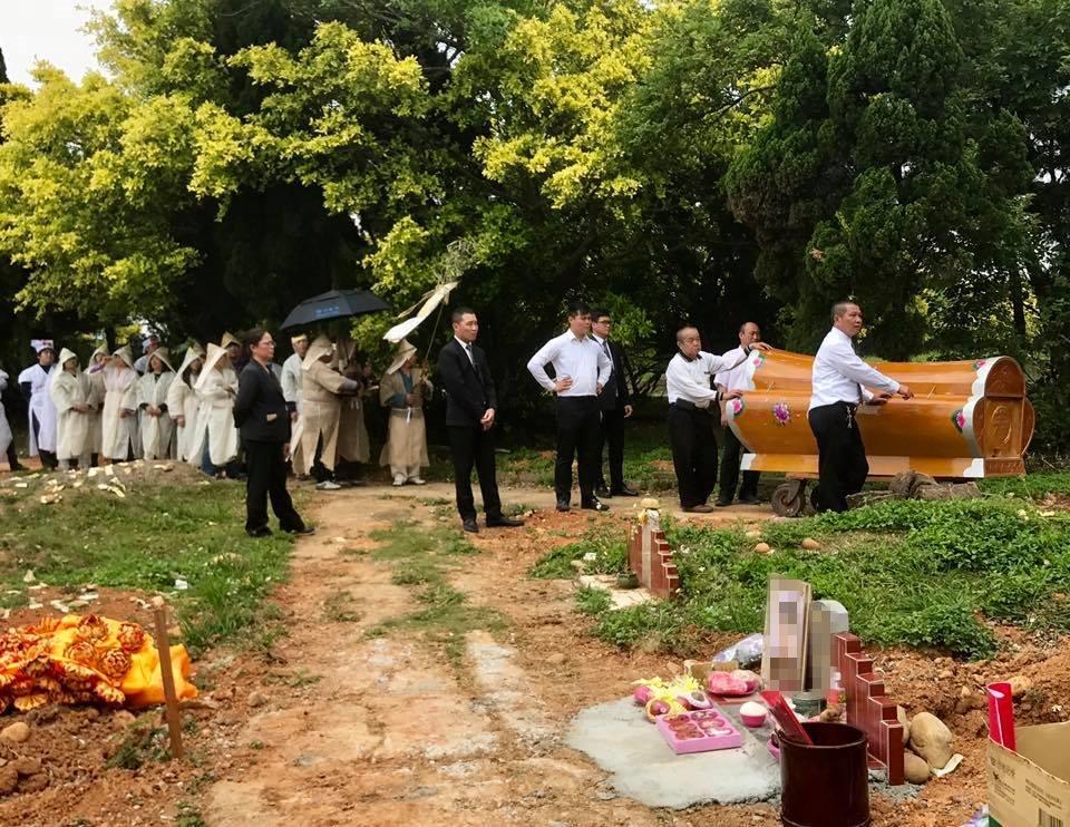 龍潭三坑 傳統土葬